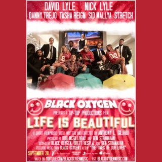 BLACK OXYGEN ROCKSTARS DAVID & NICK LYLE OFFICIALLY ACTORS AND DANNY TREJO ALSO STARS WITH THEM IN FIRST FILM